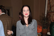 Michelle Ryan attends a VIP Screening of The Artist at Charlotte Street Hotel on December 11, 2011 in London, England.