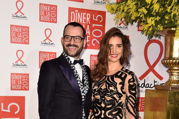 Vahina Giocante Sidaction Gala Dinner in Paris