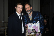 Tom Mercier and Luca Guadagnino attend the Valentino Haute Couture Spring/Summer 2020 show as part of Paris Fashion Week on January 22, 2020 in Paris, France.