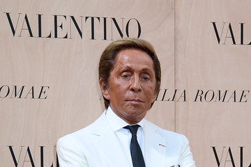 Valentino Garavani Valentino  - Arrivals - AltaRoma AltaModa Fashion Week Fall/Winter 2015/16