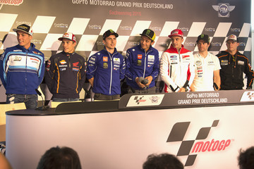 Valentino Rossi Andrea Iannone MotoGp of Germany - Previews