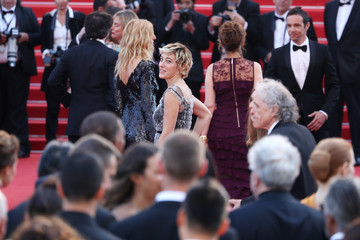 Valeria Bruni-Tedeschi 70th Anniversary Red Carpet Arrivals - The 70th Annual Cannes Film Festival