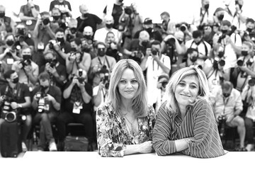 """Valeria Bruni-Tedeschi """"Cette Musique Ne Joue Pour Personne (This Music Doesn't Play For Anyone)"""" Photocall - The 74th Annual Cannes Film Festival"""