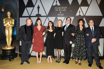 Valeria Golino Academy Of Motion Picture, Arts And Sciences, And Istituto Luce - Cinecittà Event
