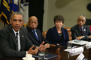Valerie Jarrett Obama Meets With African American Faith and Civil Rights Leaders