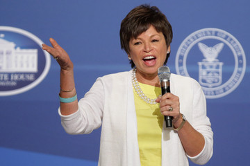 Valerie Jarrett Barack Obama Hosts Summit on Working Families