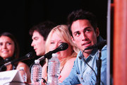 Julie Plec and Michael Trevino Photos Photo