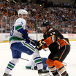 Ryan Kesler and Henrik Sedin