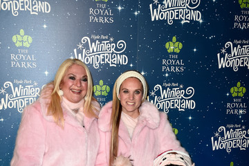 Vanessa Feltz Allegra Kurer Winter Wonderland VIP Launch - Red Carpet Arrivals