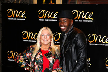 Vanessa Feltz 'Once' Press Night Arrivals