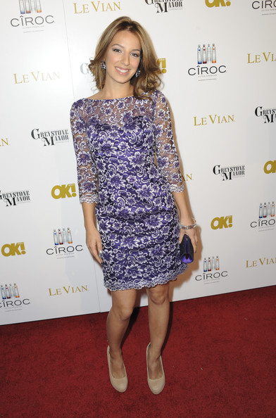 Vanessa Lengies Actress Vanessa Lengies attends OK! Magazine Pre-Oscar Party - Arrivals at Greystone Manor Supperclub on February 23, 2012 in West Hollywood, California.