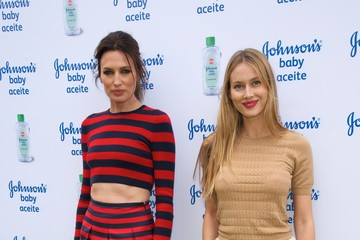 Vanessa Lorenzo Spanish Models Present Johnson's Baby Oil in Madrid