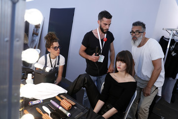 Vanessa Moody Fashion for Relief - Backstage - The 70th Annual Cannes Film Festival
