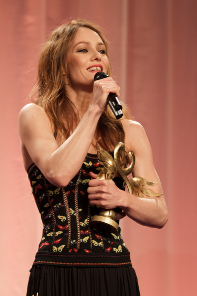 26th Cabourg Film Festival - June 16th [swann dhonneur,singing,performance,entertainment,music artist,performing arts,singer,talent show,music,event,pop music,vanessa paradis,actress,cabourg,france,cabourg film festival,26th cabourg romantic film festival]