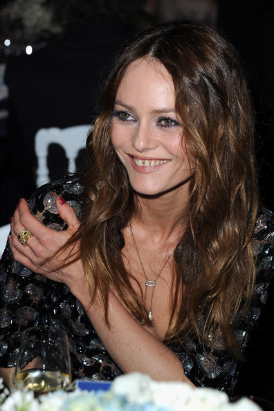 Vanessa Paradis Vanessa Paradis attends the Sidaction Gala Dinner 2012 at Pavillon d'Armenonville on January 26, 2012 in Paris, France.