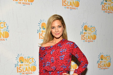 Vanessa Ray 'Once on This Island' Broadway Opening Night - Arrivals & Curtain Call