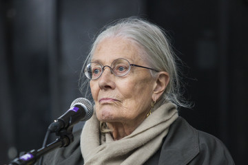 Vanessa Redgrave Refugees Welcome March Takes Place in London