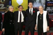 Piera Detassis, Anotnio Monda, Carlo Gabriel Nero and Vanessa Redgrave walk the red carpet during the 12th Rome Film Fest at Auditorium Parco Della Musica on November 2, 2017 in Rome, Italy.