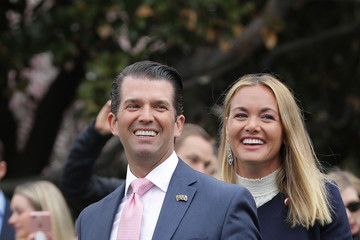 Vanessa Trump President And Mrs. Trump Host Annual White House Easter Egg Roll