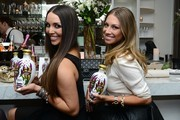 Scheana Marie and Stassi Schroeder attend the Vani-T Launch Party at Bagatelle on January 17, 2013 in Los Angeles, California.
