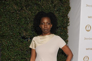 Actress Adepero Oduye attends Vanity Fair and Juicy Couture ?Vanities? 20th Anniversary hosted by Vanity Fair West Coast Editor Krista Smith and actress Shailene Woodley in support of All It Takes at Siren Studios on February 20, 2012 in Hollywood, California.