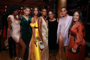 Angelica Ross, Hailie Sahar, Mj Rodriguez, Adina Porter, Charlayne Woodard, Indya Moore attend Vanity Fair and FX's annual Primetime Emmy Nominations Party on September 21, 2019 in Century City, California.