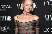 Jaime King is seen as Vanity Fair and L'Oréal Paris Celebrate New Hollywood on February 19, 2019 in Los Angeles, California.