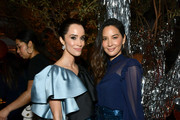 (L-R) Abigail Spencer and Olivia Munn attend Vanity Fair and Lancôme Toast Women in Hollywood on February 06, 2020 in Los Angeles, California.
