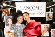 (L-R) Storm Reid and Zendaya attends Vanity Fair and Lancôme Toast Women In Hollywood on February 21, 2019 in West Hollywood, California.