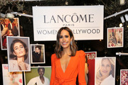 Louise Roe attends Vanity Fair and Lancôme Toast Women In Hollywood on February 21, 2019 in West Hollywood, California.