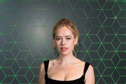 Tanya Burr attends the Vanity Fair x Bloomberg climate change gala dinner at Bloomberg London on December 11, 2018 in London, England.