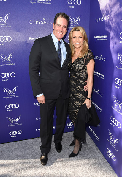 Former husband and wife, George Santo Pietro and Vanna White.