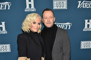 Jenny McCarthy and Donnie Wahlberg attend Variety's 3rd Annual Salute To Service at Cipriani 25 Broadway on November 06, 2019 in New York City.