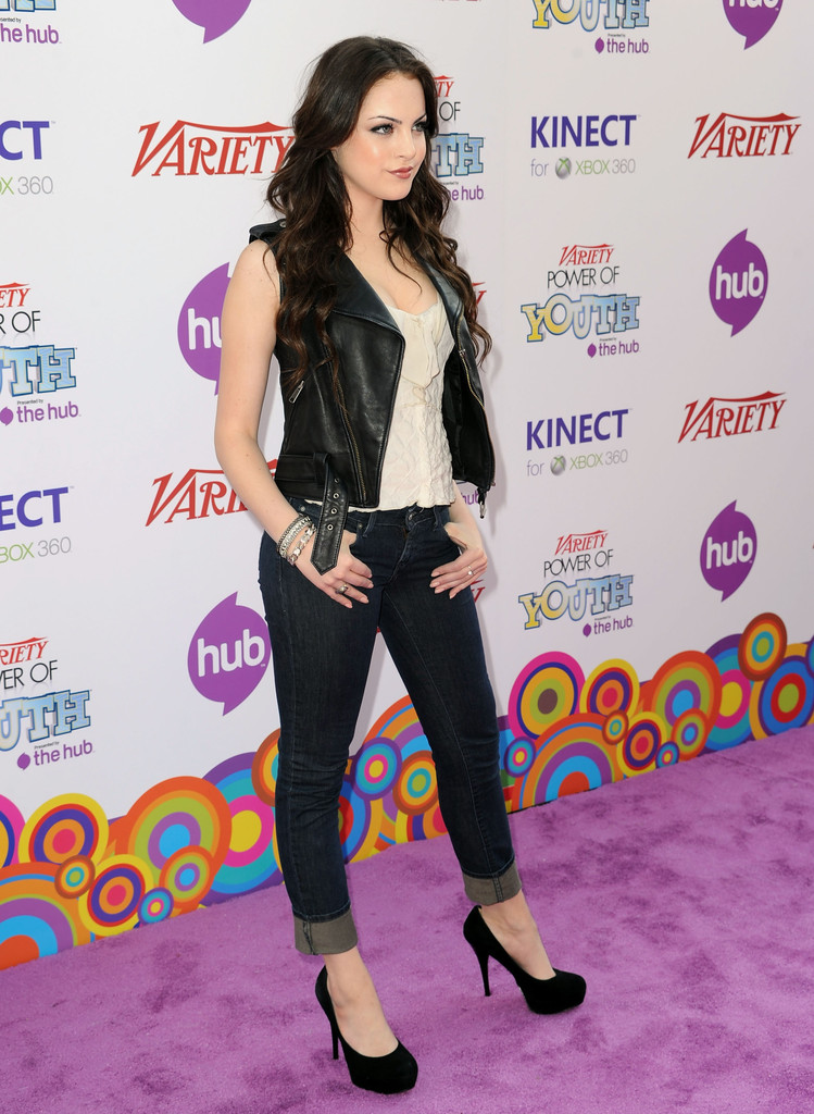 Elizabeth Gillies in Variety's 4th Annual Power Of Youth ...