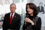 """New York City Mayor Michael Bloomberg and Commissioner of the New York City's Mayors Office of Media and Entertainment Catherine Oliver attends Variety's """"New York: Capital Of Content"""" during the 2013 Tribeca Film Festival on April 24, 2013 in New York City."""
