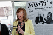 """Producer Jane Rosenthal  speaks at Variety's """"New York: Capital Of Content"""" during the 2013 Tribeca Film Festival on April 24, 2013 in New York City."""