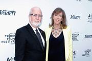 """Gerry Byrne and Jane Rosenthal attend Variety's """"New York: Capital Of Content"""" during the 2013 Tribeca Film Festival on April 24, 2013 in New York City."""