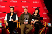 (L-R) Eric Mabius, Michael Walker and  Parker Posey attend Day 4 of The Variety Studio during the 2012 Sundance Film Festival  held at Variety Studio At Sundance on January 24, 2012 in Park City, Utah.