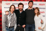 (L-R) Actors Robert Carlyle, Danny Masterson, writer/director Marshall Lewy, and Alexia Rasmussen attend Day 4 of The Variety Studio during the 2012 Sundance Film Festival  held at Variety Studio At Sundance on January 24, 2012 in Park City, Utah.