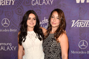 Actress Ariel Winter (L) and Shanelle Workman attend Variety and Women in Film Emmy Nominee Celebration powered by Samsung Galaxy on August 23, 2014 in West Hollywood, California.