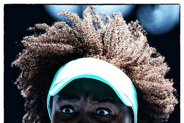 Venus Williams Expressions at the Australian Open
