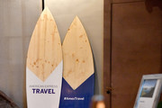 A view of American Express Travel's Trending Destinations at an immersive experience hosted by American Express Travel and Venus Williams, at the Greenwich Hotel on November 7, 2019, in New York City.