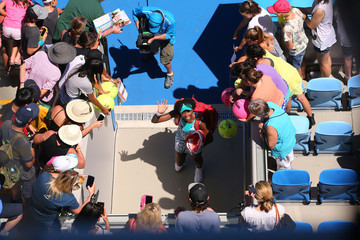 Venus Williams Australian Open: Day 4