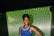 Venus Williams Inside American Express Super Rally at The American Express Fan Experience during The 2018 US Open Tennis Championships on August 28, 2018 in Queens, NY.
