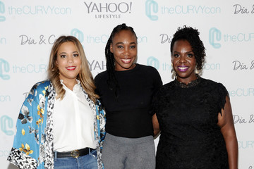 Venus Williams #TeeUpChange Campaign Launch Hosted By Dia&Co AndCFDA At theCURVYcon