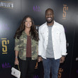 Vernon Davis Grand Opening Of Shaquille's At L.A. Live