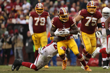 Vernon Davis Arizona Cardinals v Washington Redskins
