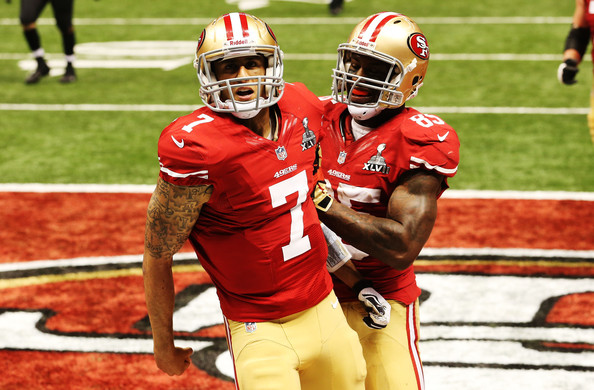 Vernon Davis and Colin Kaepernick Photos - 16 of 23. Super Bowl XLVII -  Baltimore ... e13d6c49c