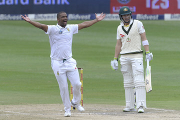 Vernon Philander South Africa vs. Australia - 4th Test: Day 3