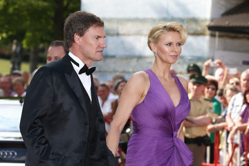 Veronica Ferres Carsten Maschmeyer Arrivals at the Bayreuth Festival Opening